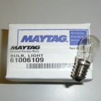 Maytag 61006109 Light Blub 6w SES Facia New Panel